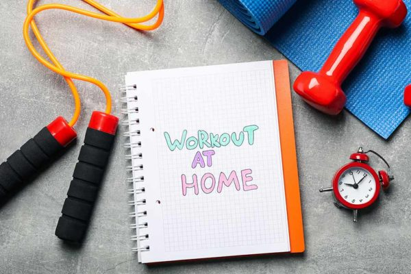 Tips for Staying Healthy While Homebound Due to COVID-19